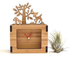 modern wall clocks and home decor by decoylab on etsy