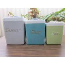 retro kitchen canisters treats and treasures