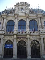 chambre du commerce lyon entrée du palais du commerce et de la bours