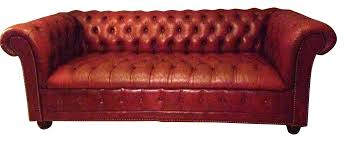 vintage chesterfield sofa for sale vintage red leather chesterfield sofa chairish