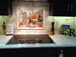 kitchen backsplash tile murals cookie s cornucopia kitchen backsplash tile mural