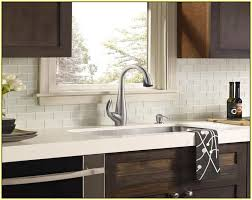 White Glass Backsplash by Glass Tile Backsplash