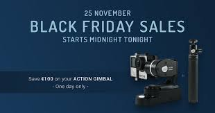 amazon black friday starts luuv action gimbal black friday sale on amazon launchpad