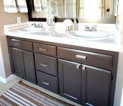 bathroom cabinet painting ideas bathroom cabinets after paint valspar s betsy ross house
