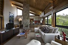 home interior materials mountain house by david guerra architecture and interior