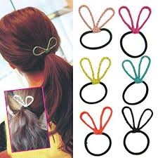 elastic hair bands fashion korean hair accessories ponytail holder