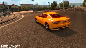 maserati yellow maserati granturismo mod for ets 2