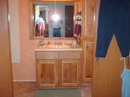 vanity linen cabinet matching mirror new floor by cobra5