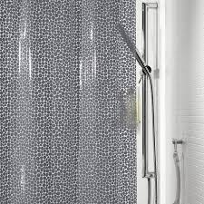 rideau de rideau de en plastique l 180 x h 200 cm gris gorron sensea