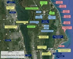 Port Canaveral Florida Map by Kennedy Space Center A Space Traveler Guidebook Travels In Orbit
