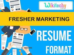 Mba Marketing Fresher Resume Sample by Resume Fresher Marketing Resume Sample Resume Resume