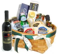 Wine And Cheese Gift Basket Christmas Gift Basket Christmas Occasions