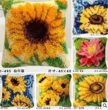 popular latch hook rug kit sunflower buy cheap latch hook rug kit