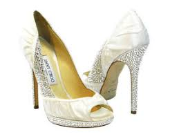 wedding shoes jimmy choo nib jimmy choo ivory swarovski bridal wedding shoes 100