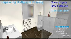 3d bathroom design youtube