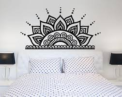 Headboard Wall Decor boho headboard etsy