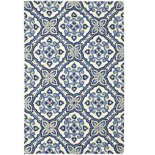 5x8 Indoor Outdoor Rug by Mediterranean Tile Rug 5x8 On Sale At Pier One Too Busy