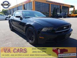 mustang car 2014 price 2014 ford mustang v6 premium 2dr fastback in richmond va va cars inc