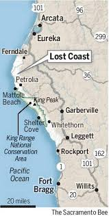 Fort Bragg Map Get Lost On California U0027s Lost Coast And Enjoy The Solitude The