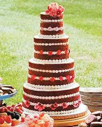 15 red velvet wedding cakes u0026 confections martha stewart weddings