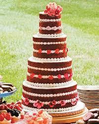 15 red velvet wedding cakes u0026 confections martha stewart weddings