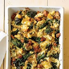 Homemade Thanksgiving Stuffing Recipe Italian Chard Stuffing Recipe Myrecipes