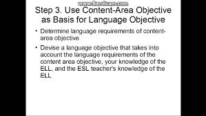adding language objectives to your lesson plans youtube