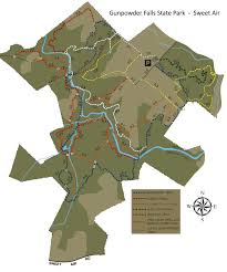 Maryland State Parks Map by Trail Maps