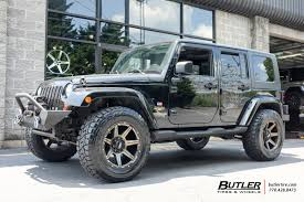 bronze jeep jeep wrangler with 20in grid offroad gd6 wheels exclusively from