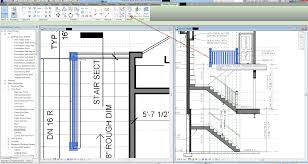 revit how to host a railing on stair revit products autodesk