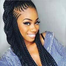cornrow hairstyles for black women with part in the middle 2018 braided hairstyle ideas for black women looking for some new