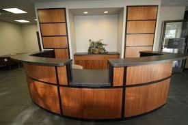 Custom Made Reception Desk Custom Made Reception Desk By C N C Custom Cabinets Custommade Com