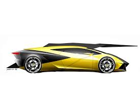lamborghini sketch side view huracan early design sketches early huracan design 22 hr image