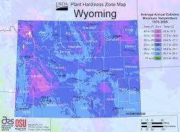 Usda Zone Map Wyoming Plant Hardiness Zone Map U2022 Mapsof Net