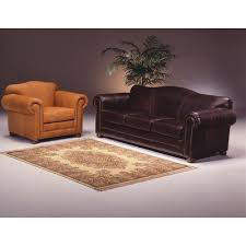 Omnia Savannah Leather Sofa by Omnia Leather Sedona Leather Configurable Living Room Set