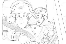firefighter coloring pages bebo pandco