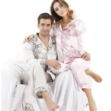 noble satin pajamas mens pajamas for autumn simple home
