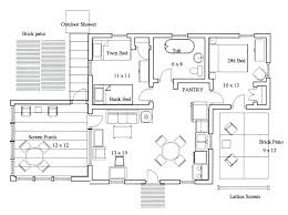 house plans for entertaining floor plans for entertaining midsize country cottage house plan with