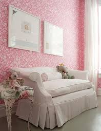 Shabby Chic Pink Wallpaper by Pink Shabby Chic Kids Room Transitional U0027s Room