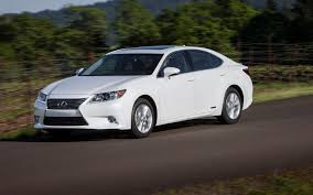 2015 lexus es 350 sedan review 2013 lexus es 300h white front left side view photo 37513091