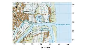 What Is A Topographic Map How To Read A 6 Figure Grid Reference Youtube