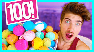 Challenge Fall In Bath 100 Bath Bombs Challenge