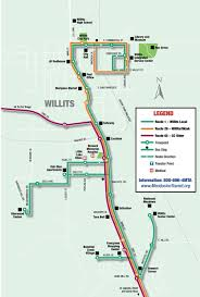 San Francisco Transportation Map by Mendocino Transit Authority Mta Public Transportation For