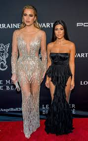 kourtney kardashian u0027s gown has the craziest cutouts oh and