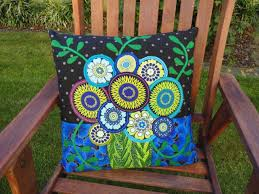 wendy s quilts and more wool felt applique cushions