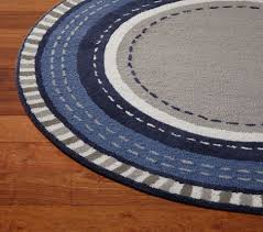 Round Rug Pottery Barn Pickstitch Round Rug Pottery Barn Kids If I Ever Have A Son