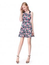 floral print dresses for weddings gemgrace