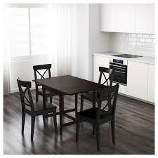 Ikea Working Table Ingatorp Drop Leaf Table Black Brown 59 88 117x78 Cm Ikea