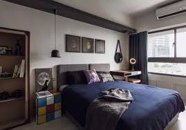 minimalist studio apartment design bring out a masculine