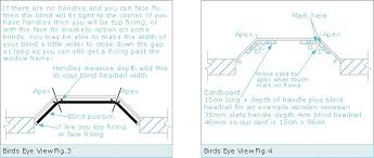 angled bay window measuring guide